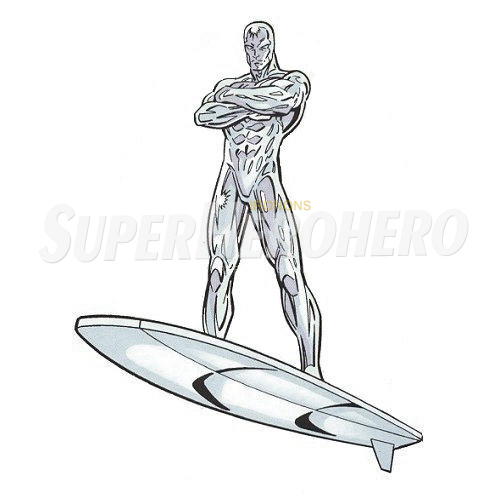 Custom Silver Surfer Iron on Transfers (Wall & Car Stickers) No.7560